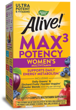 Nature's Way Alive! Max3 Daily Women's Multi