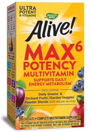 Nature's Way Alive!® Max6 Daily Multi