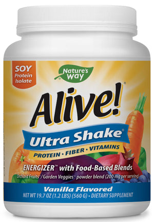 Nature's Way Alive!® Ultra-Shake Soy Vanilla Protein