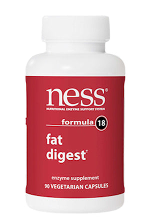 Ness Enzymes Fat Digest Formula 18