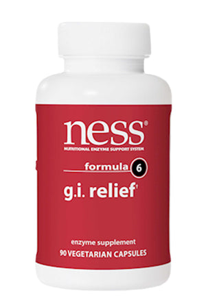 Ness Enzymes GI Relief* Formula 6