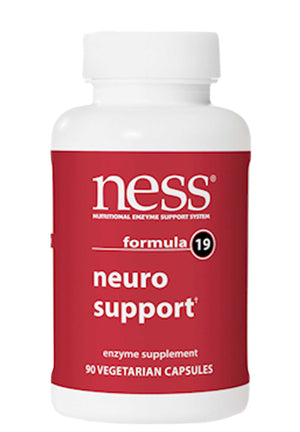 Ness Enzymes Neuro Support Formula 19