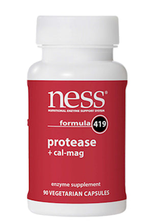 Ness Enzymes Protease + Cal-Mag formula 419