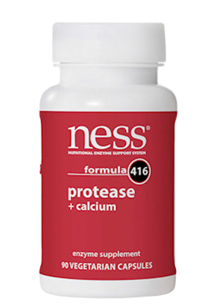 Ness Enzymes Protease + Calcium formula 416