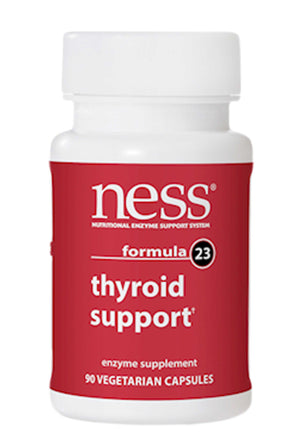 Ness Enzymes Thyroid Support formula 23