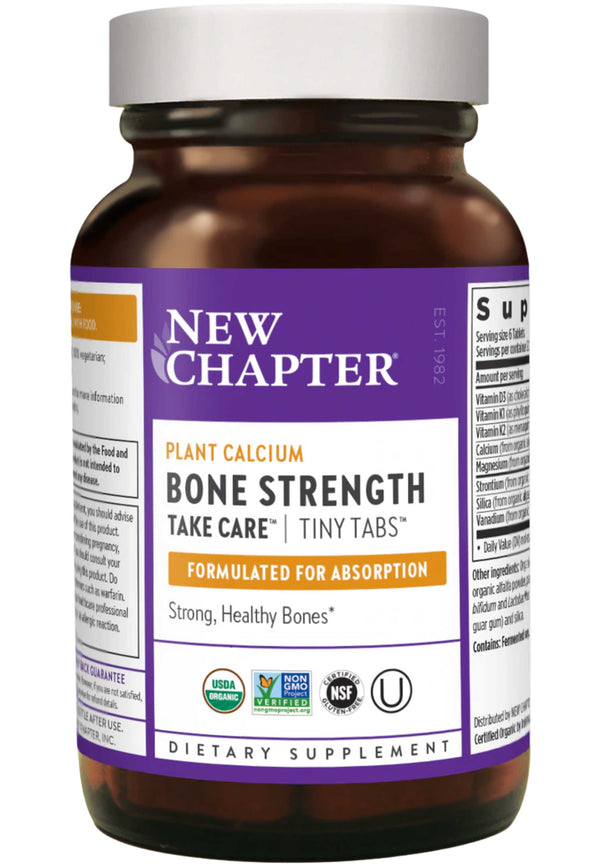 New Chapter Bone Strength Take Care Tiny Tabs