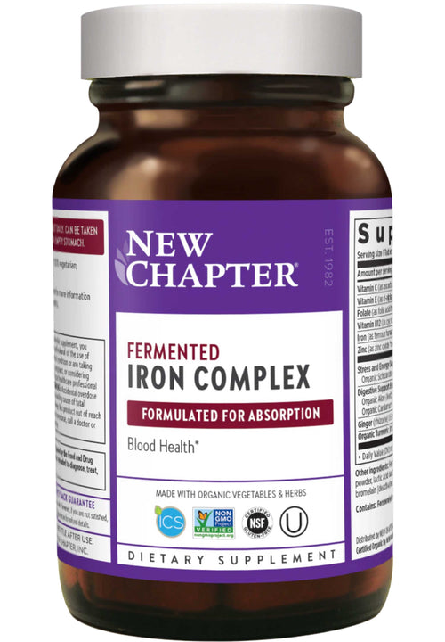 New Chapter Iron Food Complex