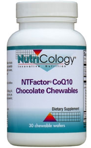 Nutricology NTFactor CoQ10 Chocolate Chewables