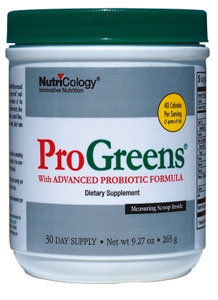 Nutricology ProGreens with Advanced Probiotic Formula