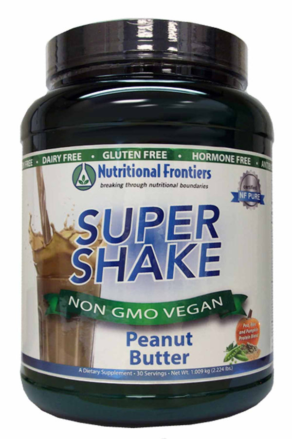 Nutritional Frontiers Super Shake Peanut Butter