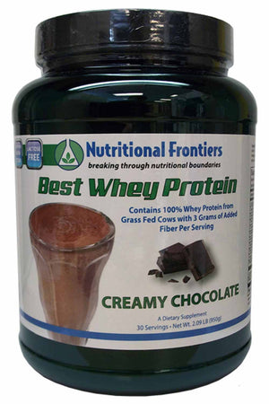 Nutritional Frontiers The Best Whey Chocolate
