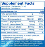 Pharmax Cal Mag Berry Liquid+ Ingredients