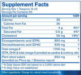 Pharmax Finest Pure Fish Oil with Plant Sterols Ingredients
