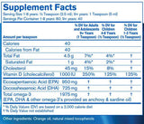 Pharmax Finest Pure Fish Oil Plus Vitamin D Ingredients
