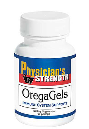 Physician's Strength OregaGels (100% Wild Oil of Oregano GelCap)
