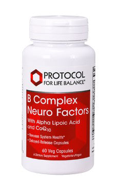 Protocol for Life Balance B Complex Neuro Factors