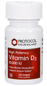 Protocol for Life Balance Vitamin D3 10,000