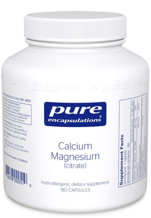 Pure Encapsulations Calcium Magnesium (Citrate)