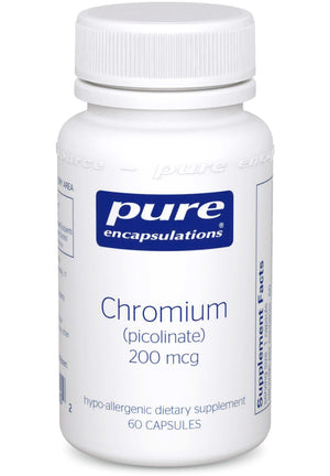 Pure Encapsulations Chromium picolinate 200 mcg