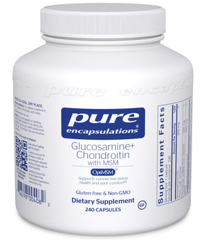 Pure Encapsulations Glucosamine Chondroitin with MSM
