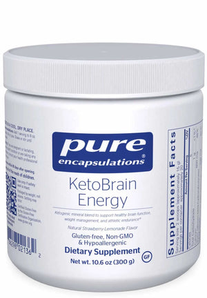 Pure Encapsulations KetoBrain Energy