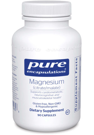 Pure Encapsulations Magnesium (citrate/malate)