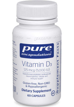 Pure Encapsulations Vitamin D3 5000iu
