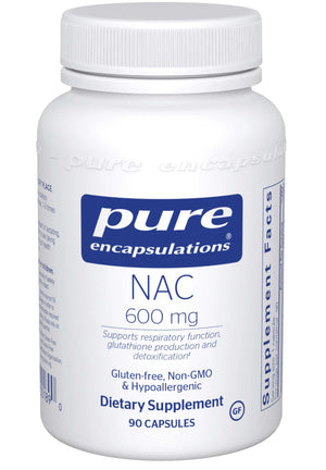 Pure Encapsulations NAC 600mg