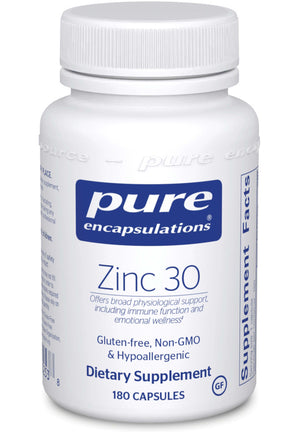 Pure Encapsulations Zinc 30