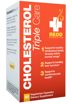 Redd Remedies Cholesterol Triple Care