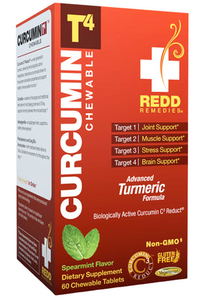 Redd Remedies Curcumin T4 Chewable Tablets