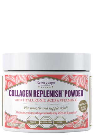 Reserveage Nutrition Collagen Replenish Powder Unflavored