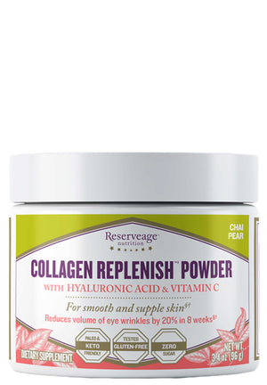 Reserveage Collagen Replenish Powder Chai Pear