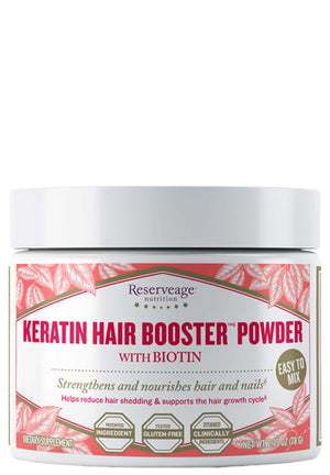 Reserveage Nutrition Keratin Hair Booster Powder