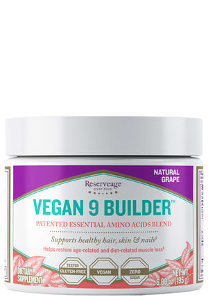 Reserveage Nutrition Vegan 9 Builder Powder