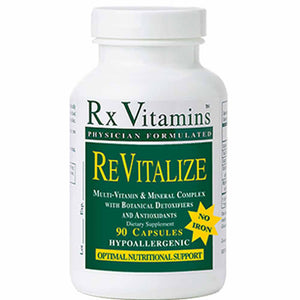 Rx Vitamins ReVitalize Iron-free