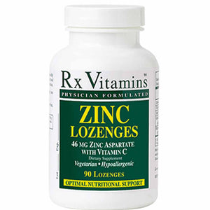Rx Vitamins Zinc Lozenges 15 mg