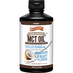 Barlean's Organic Oils Seriously Delicious MCT Oil - Coconut
