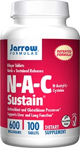 Jarrow Formulas N-A-C Sustain 600mg