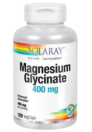 Solaray Magnesium Glycinate 400