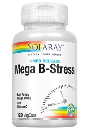 Solaray Mega Vitamin B-Stress Time Released