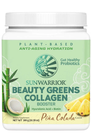 Sunwarrior Beauty Greens Collagen Booster Piña Colada