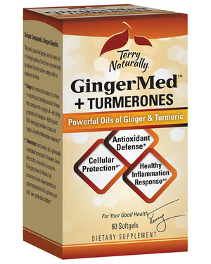 Terry Naturally GingerMed™+Turmerones