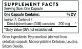 Thorne Research Indole-3-Carbinol Ingredients