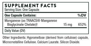 Thorne Research Manganese Bisglycinate