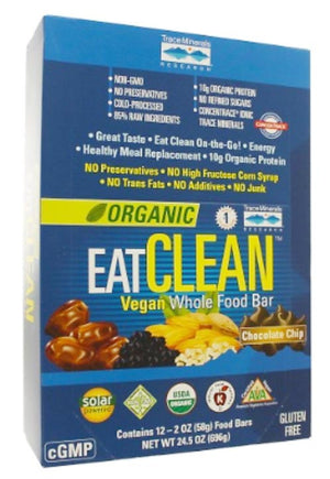 Trace Minerals Research EATCLEAN Vegan Whole Food Bar