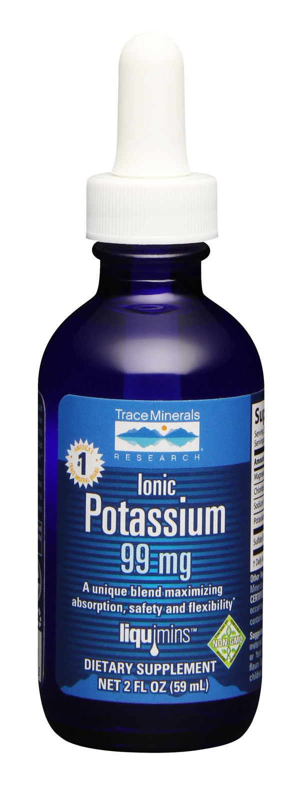 Trace Minerals Research Ionic Potassium