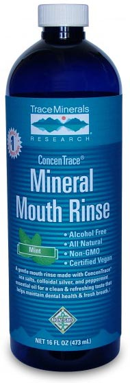 Trace Minerals Research Concentrace Mineral Mouth Rinse