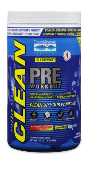 Trace Minerals Research TMRFIT Series Clean Pre Workout