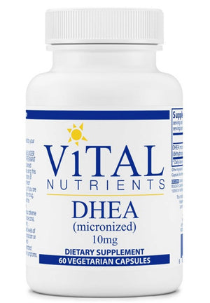 Vital Nutrients DHEA (micronized) 10mg